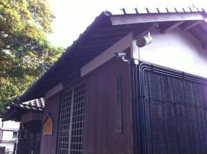 某寺院のセキュリティ施工事例