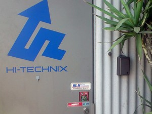 HI-TECHNIX 自主機械警備と監視カメラの施工事例