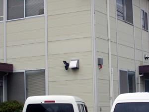 某舗材会社 建物侵入警報システム等の施工事例